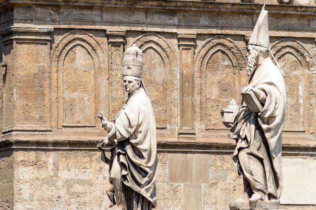 Szczegół katedra palermo, sicily