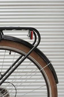 Szczegół rower vintage tylne koło