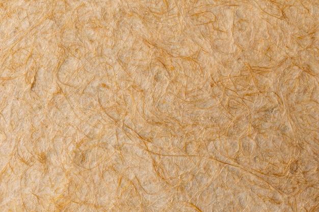 Szczegółowa faktura tkaniny wykonanej z włókna cisalowego.