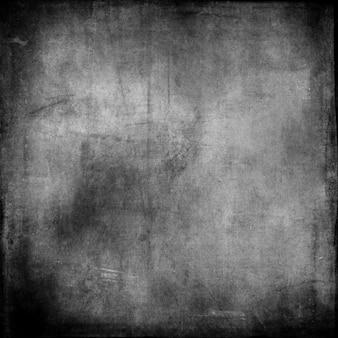 Szczegółowe tło grunge w odcieniach szarości i czerni