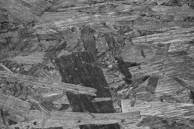 Szczegółowy czarny i biały drewniany tło