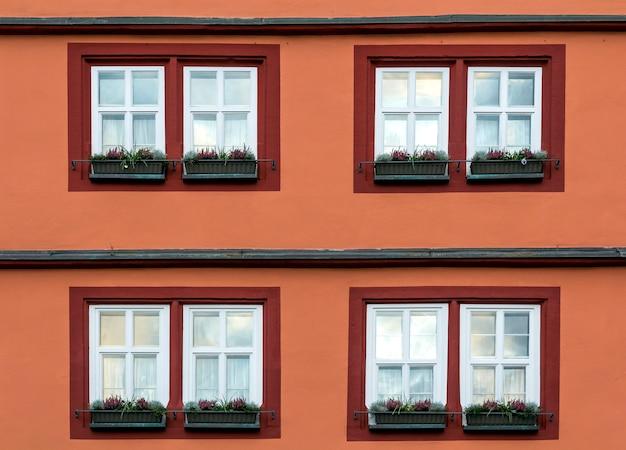 Szczegółowy obraz fasady budynku