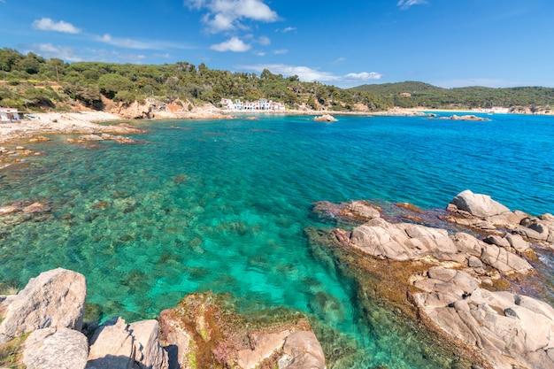 Szczegóły hiszpańskiego wybrzeża
