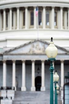 Szczegóły kapitolu w waszyngtonie