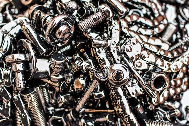 Szczegóły maszyny oleju steampunk tekstury grunge tło żelaza auto