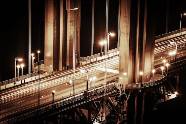 Szczegóły mostu golden gate