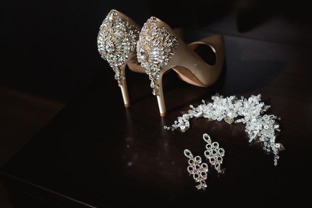 Szczegóły ślubu panny młodej - buty ślubne