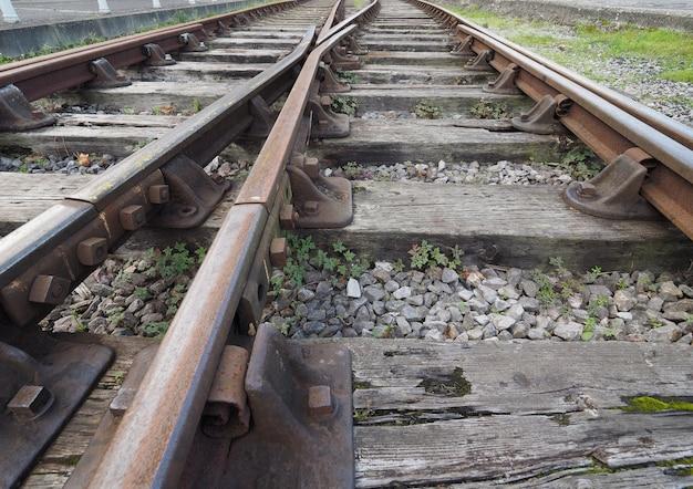 Szczegóły torów kolejowych