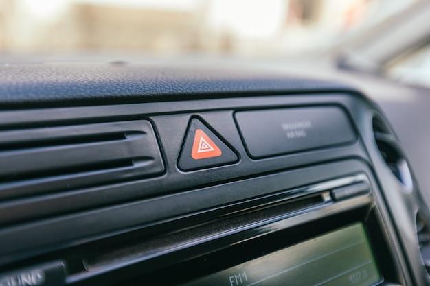 Szczegóły wnętrza samochodu