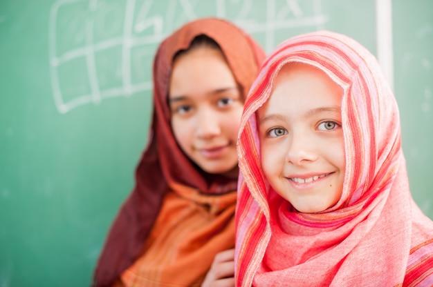 Szczęśliwe dzieci w szkole