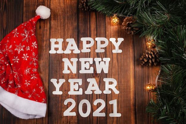 Szczęśliwego nowego roku dekoracje