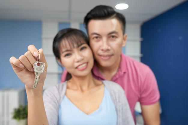 Szczęśliwi właściciele nieruchomości