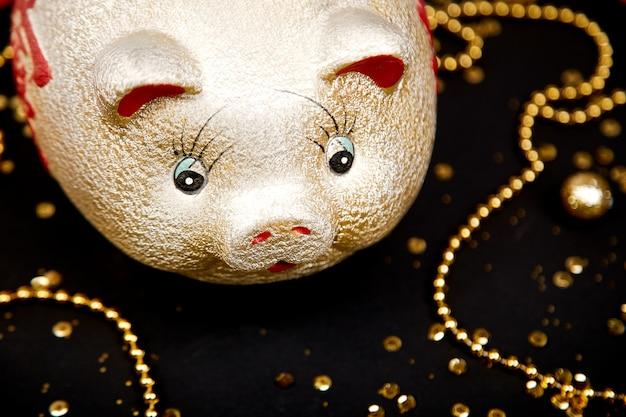 Szczęśliwy chiński nowy rok świni