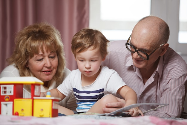 Szczęśliwy czas z wnukiem