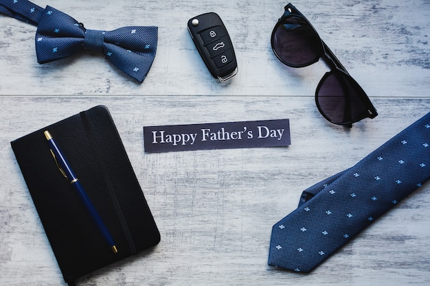 Szczęśliwy tło dzień ojca.