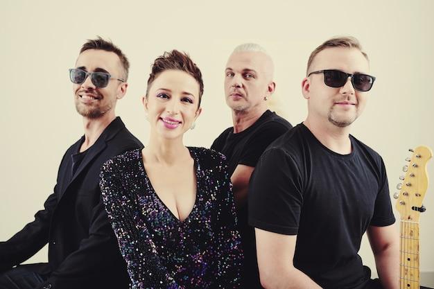 Szczęśliwy zespół muzyczny