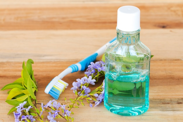 Szczoteczka do płukania jamy ustnej dbanie o zdrowie jamy ustnej