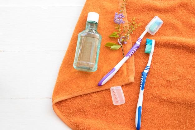 Szczoteczka do płukania jamy ustnej pielęgnacja jamy ustnej