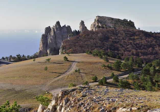 Szczyt aipetri rano
