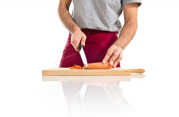 Szef kuchni ci? cia marchwi
