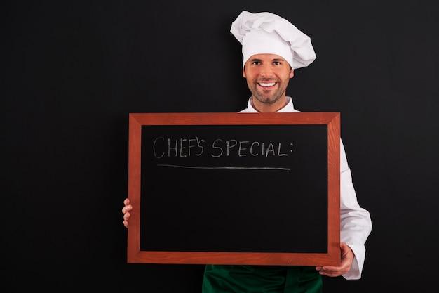 Szef kuchni jest wyjątkowy