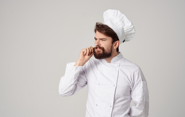 Szef kuchni szefa kuchni profesjonalny smakosz branży restauracyjnej