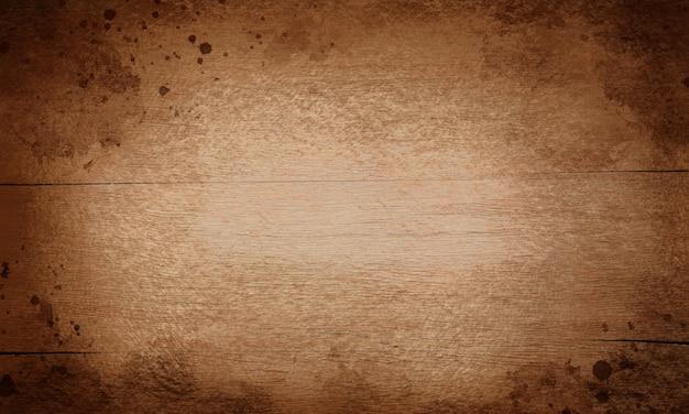 Szeroki grunge drewniany tło