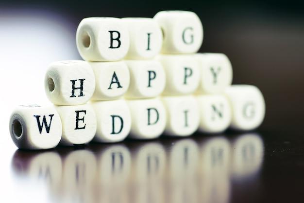 Sześcian ślubny tekst