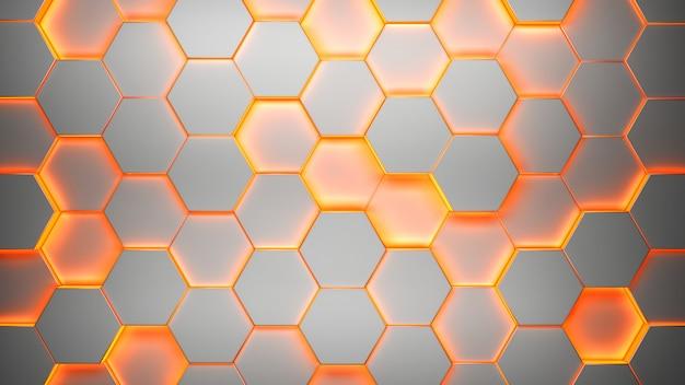 Sześciokątny wzór tekstury