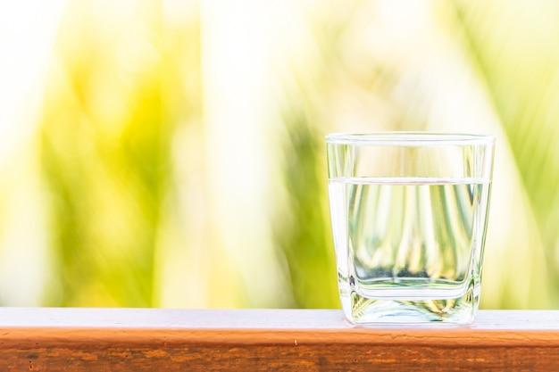 Szklana woda