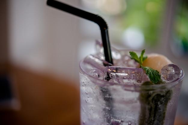 Szklany napój zdrowy