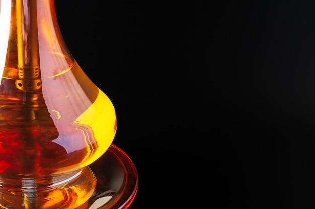 Szklany nargile pucharu zakończenie