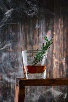 Szkło kryształowe z whisky