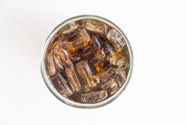Szkło lodu coli