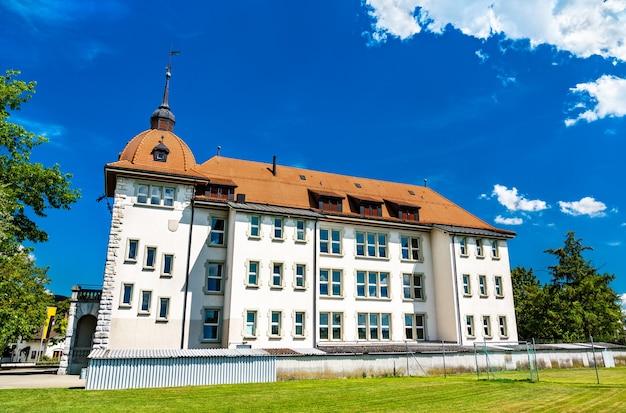 Szkoła hofmatt w aarburgu w szwajcarii