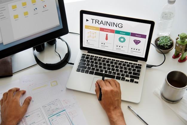 Szkolenia rozwój kariera koncepcja wzrostu