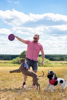 Szkolenie psów na stronie