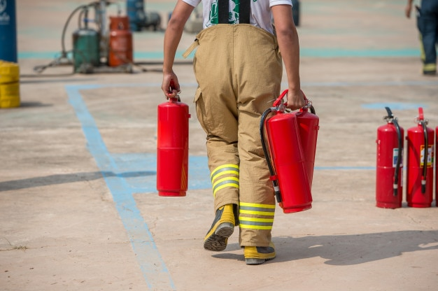 Szkolenie strażaków