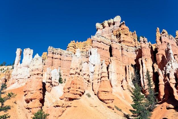Szlak navajo w bryce canyon w stanie utah