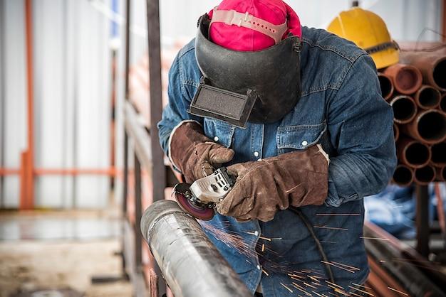 Szlifowanie pracowników, szlifowanie stali