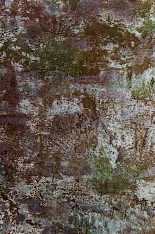 Szorstka betonowa ściana z farbą