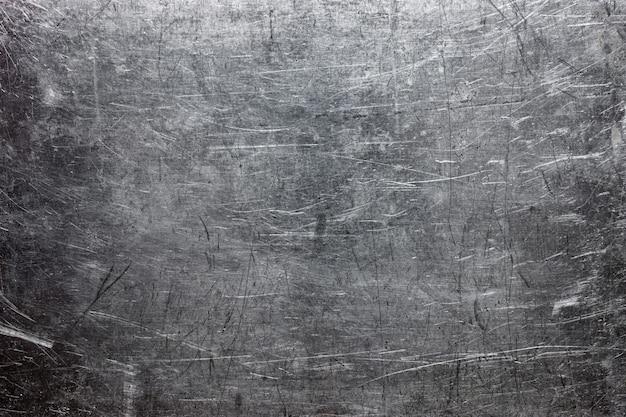 Szorstka faktura metalu, powierzchnia z szarej stali lub żeliwa