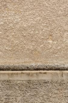 Szorstka i gruba powierzchnia cementu