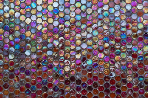 Szorstka mozaika szklana