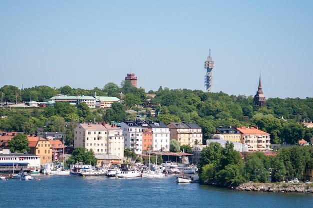 Sztokholm w szwecji.