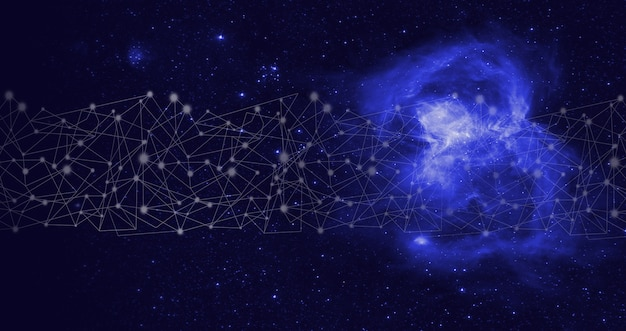 Sztuczna inteligencja ai . globalna baza danych i sztuczna inteligencja. technologia data mining na wirtualnym panelu. technologia wirtualnej rzeczywistości lub sztucznej inteligencji.