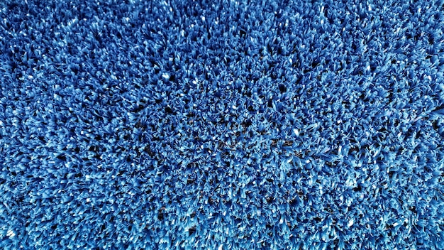 Sztuczna trawa niebieska