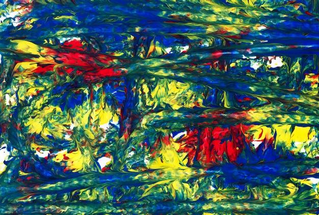 Sztuka abstrakcyjna. kreatywne ręcznie malowane tła
