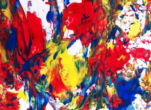 Sztuka abstrakcyjna, kreatywne ręcznie malowane tła