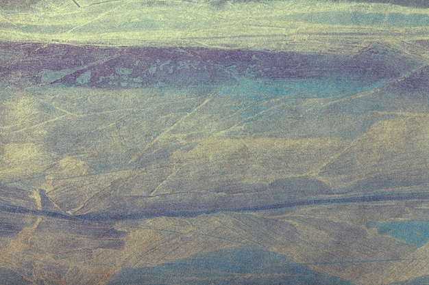 Sztuka abstrakcyjna powierzchni ciemnoniebieskie i złote kolory